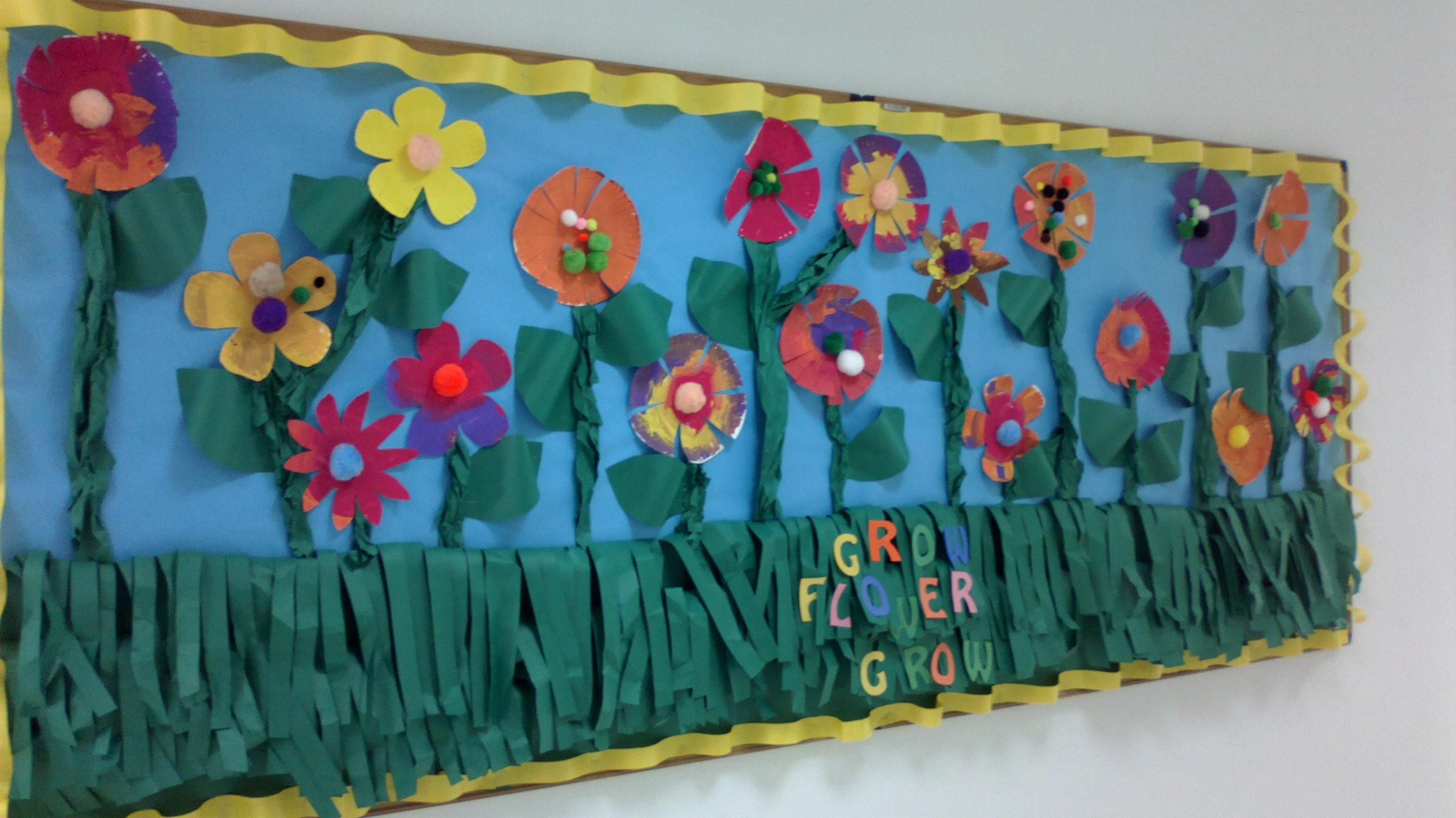Grow Flower Grow Preschool Bulletin Boards